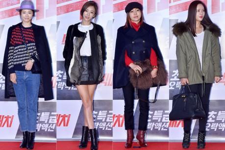 Lee Yeon Hee, G.NA, Hwang Shin Hye and Hwang Jung Eum