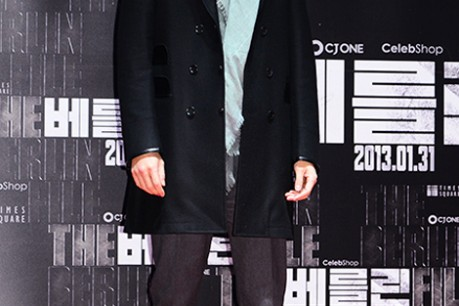 'The Berlin' VIP Movie Premiere and Directors & Celebs Red Carpet: Jung Woo Sung