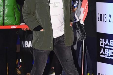Movie 'The Last Stand' VIP Red Carpet: Ji Sung