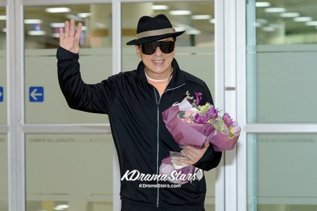 Sung Ryong Visit Korea for Promote Movie 'Chinese Zodiac'