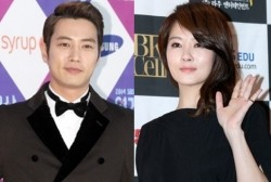 Joo Sang Wook and Kim Sun Ah