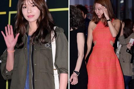 Gong Hyo Jin-Kim Ah Joong Attend 'Boomerang Family' VIP Premiere - May 6, 2013
