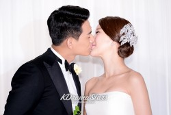 Baek Ji Young and Jung Suk Won's Wedding Press Conference on June 2, 2013