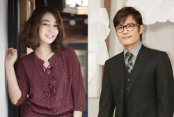 Lee Min Jung and Lee Byung Hun