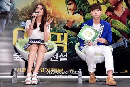 Kara's Han Seung Yeon, 2AM's Jung Jin Woon
