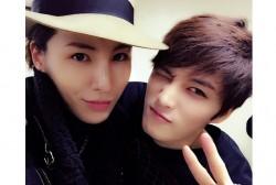 No Min Woo and Kim Jae Joong