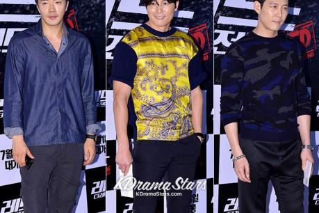 Kwon Sang Woo, Jung Woo Sung, Lee Jung Jae