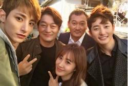 Lee Soo Hyuk, Jo Sung Ha, Jung Man Sik, Park Shi Hoo, Kwon Yuri