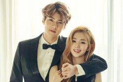 EXO Sehun and RED VELVET Irene Couple Up in the February 2016 issue of CeCi Magazine