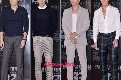Jung Woo Sung, Kim Woo Bin, Ji Sung, Lee Jung Jae