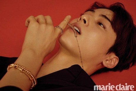 Cha Eun-woo Shows Various Charms in Marie Claire May Issue