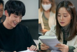 """Darkness Envelops Lee Joon Gi and Moon Chae Won's Marriage in """"Flower of Evil"""" Teasers"""