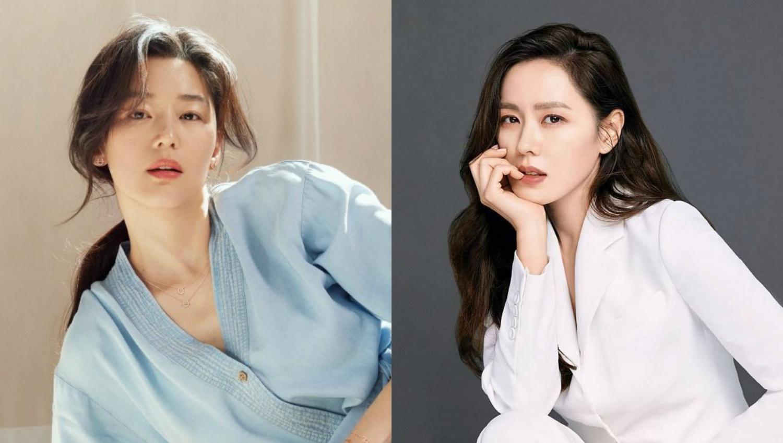Actresses Son Ye Jin And Jun Ji Hyun In Their Prime - Here