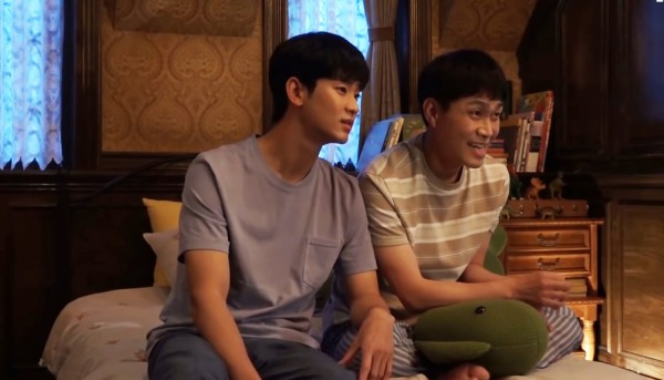 Behind The Scenes: Kim Soo Hyun, Seo Ye Ji, And Oh Jung Se Poses for the Family Picture