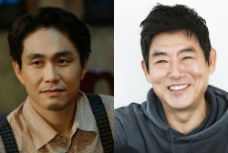Oh Jung Se and Sung Dong Il