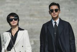 Kim Hye Soo and Ju Ji Hoon in