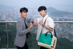 Kim Joo Heon and Lee Jae Wook