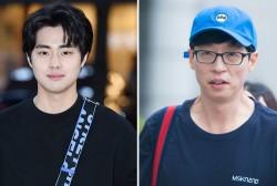 Jo Byeong Gyu and Yoo Jae Suk