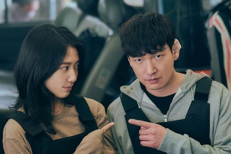Park Shin Hye and Cho Seung Woo Showcase their Perfect Synergy in Forthcoming Drama 'Sisyphus: The Myth'