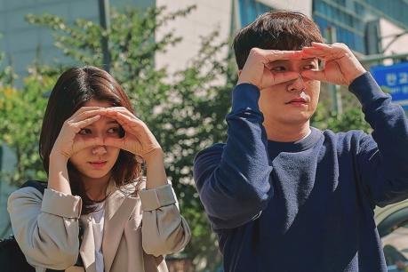 Park Shin Hye and Cho Seung Woo