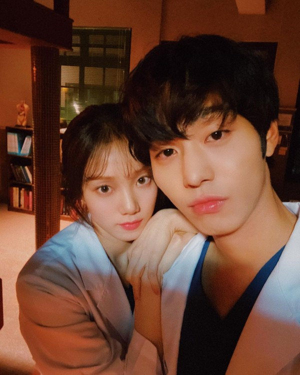 Lee Sung Kyung and Ahn Hyo Seop