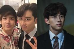 2PM Nichkhun, Chansung, and Taecyeon
