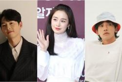 Song Joong Ki, Kim Tae Hee, Rain