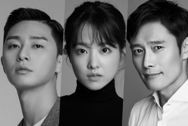 Park Seo Joon, Lee Byung Hun and Park Bo Young