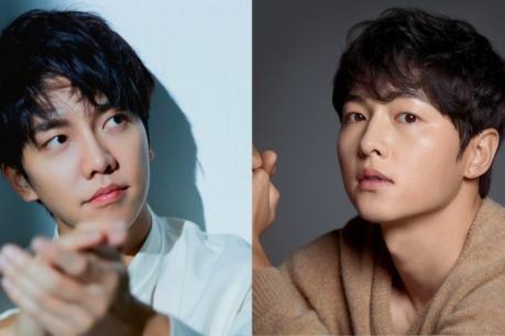 Lee Seung Gi and Song Joong Ki