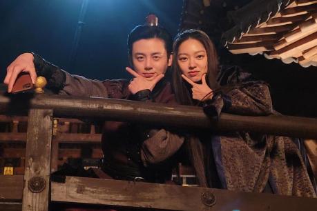 Lee Ji Hoon and Choi Yu Hwa