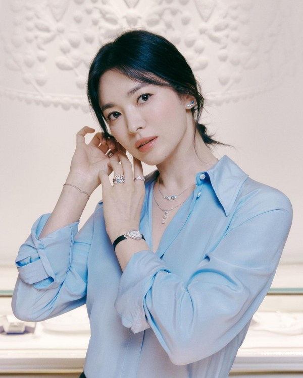 Song Hye Kyo Looks Stunning in her Latest Jewelry Advertisement Photos