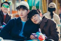 Song Joong Ki and Kim Sung Cheol