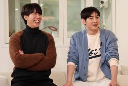 Lee Seung Gi and Cha Eun Woo