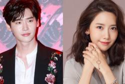 Lee Jong Suk's Instagram and Im Yoona's Instagram