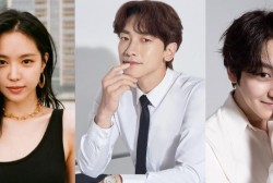 Apink's Son Naeun, Rain and Kim Bum