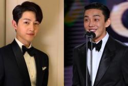 Song Joong Ki and Yoo Ah In