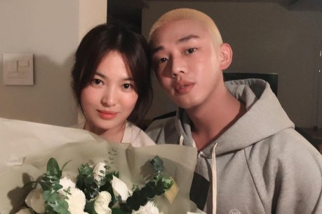 Yoo Ah In and Song Hye Kyo