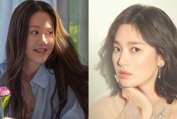 Song Hye Kyo and Go Hyun Jung