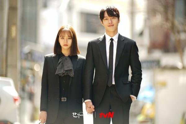 Jang Ki Yong and Hyeri