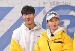 Song Ji Hyo and Kim Jong Kook