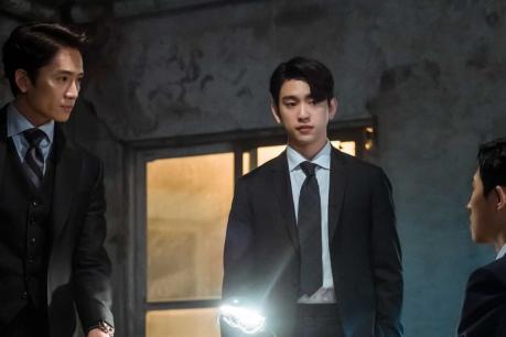 The Devil Judge Episode 9 Still - Ji Sung and GOT7 Jinyoung