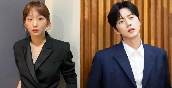 Actress Jin Ki Joo and Actor Park Hae Jin