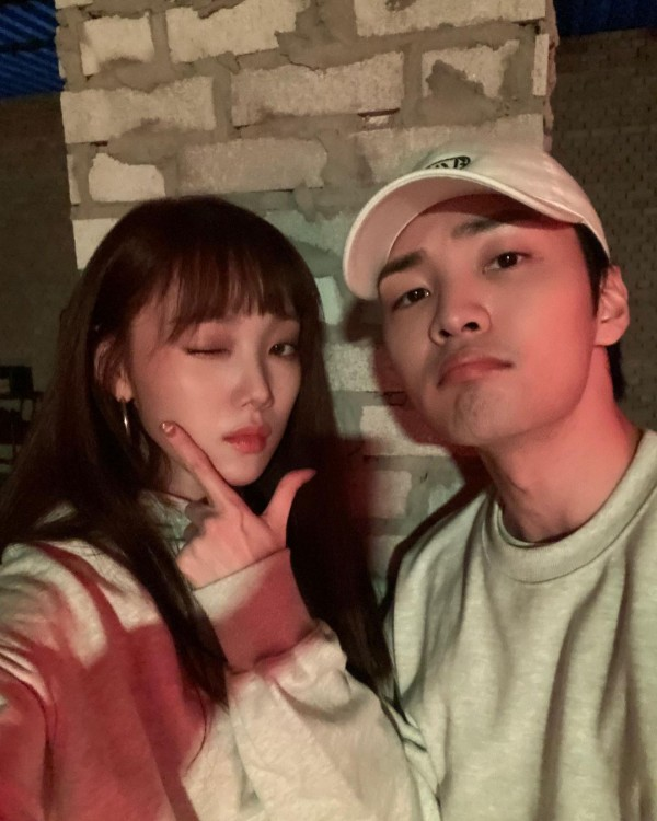 Lee Sung Kyung and Kim Min jae