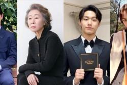 Oscar Winner Youn Yuh Jung, Song Joong Ki, Lee Do Hyun, Hyeri