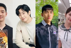 Lee Je Hoon, Jung Hae In, Tang Jun Sang, Pyo Ye Jin