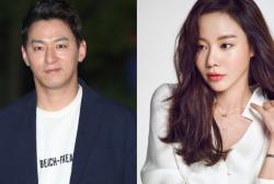 Joo Jin Mo and Kim Ah Joong
