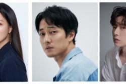 Actors Kim Hee Sun, So Ji Sub, and Park Hae Jin
