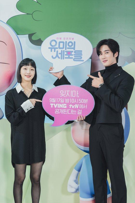 Yumi's Cells Kim Go Eun and Ahn Bo Hyun