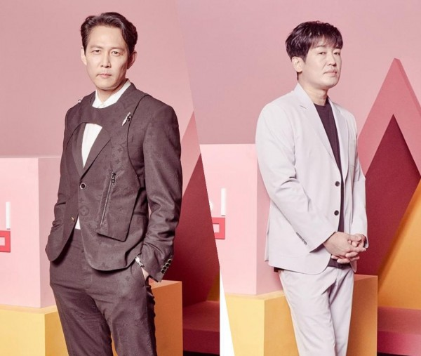 SQUID GAME Lee Jung Jae and Heo Sung Tae