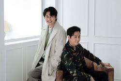 Lee Jung Jae and Jung Woo Sung